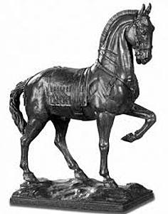 Thumb cheval bronze