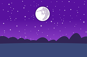 Thumb nuit lune
